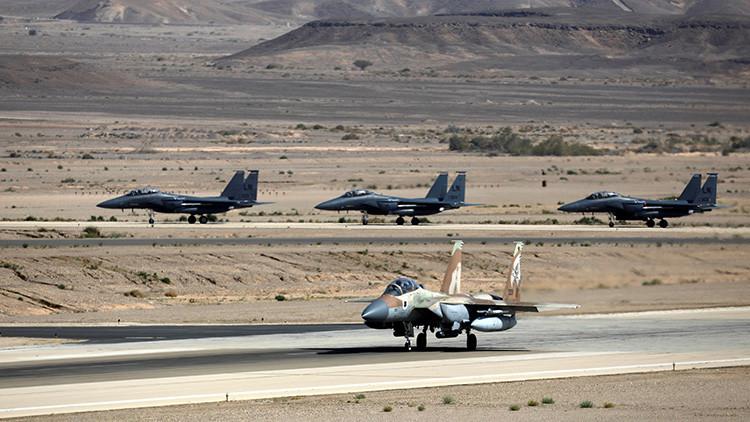 Israel ataca posiciones militares sirias en respuesta a un proyectil