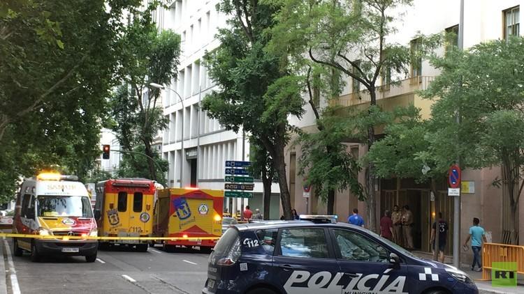 Detectan un sobre sospechoso en un edificio del centro de Madrid
