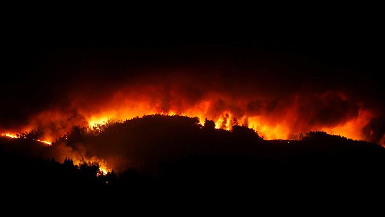 Ya son 62 los muertos por un incendio forestal en Portugal