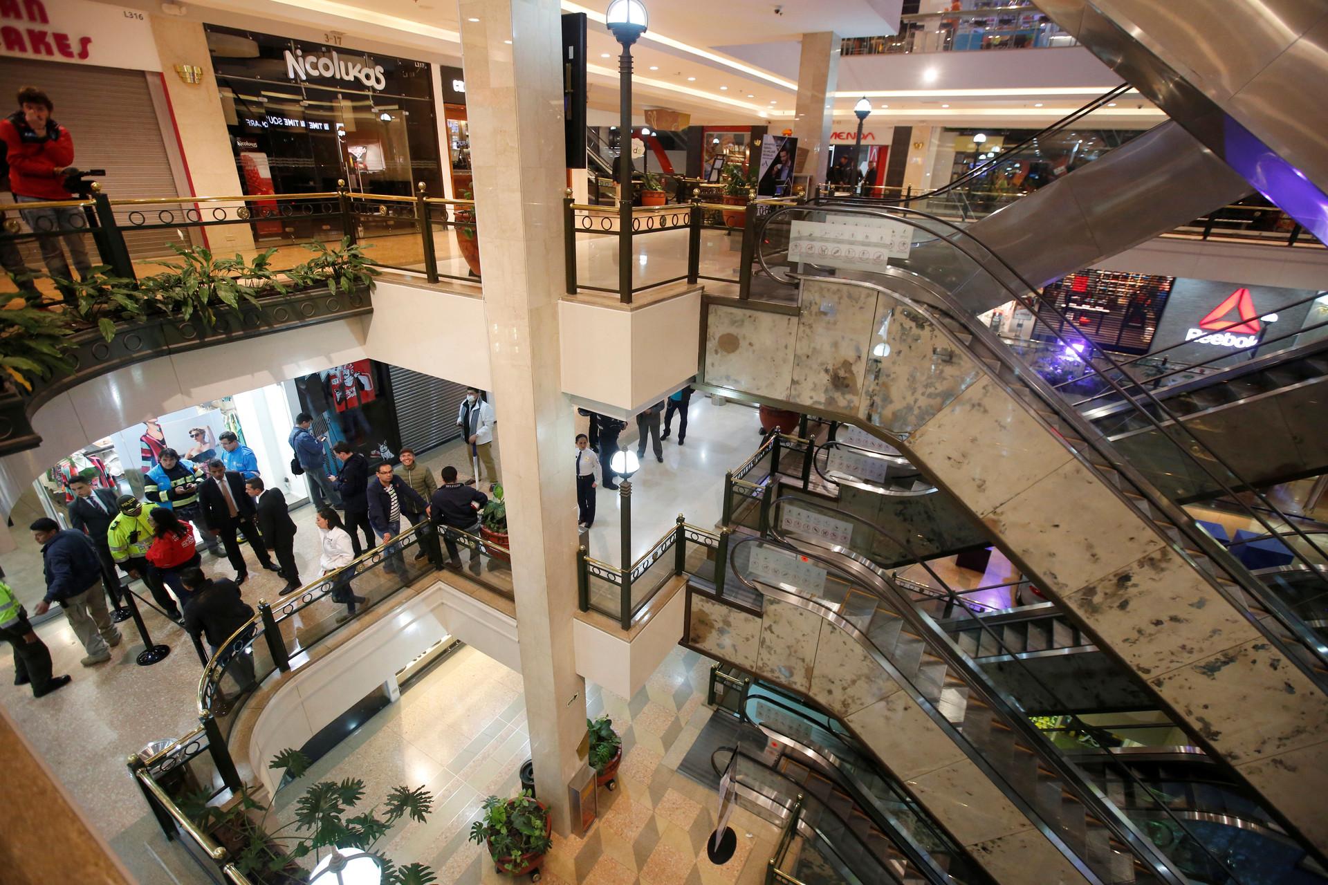 PRIMERAS IMÁGENES: Una explosión en un centro comercial de