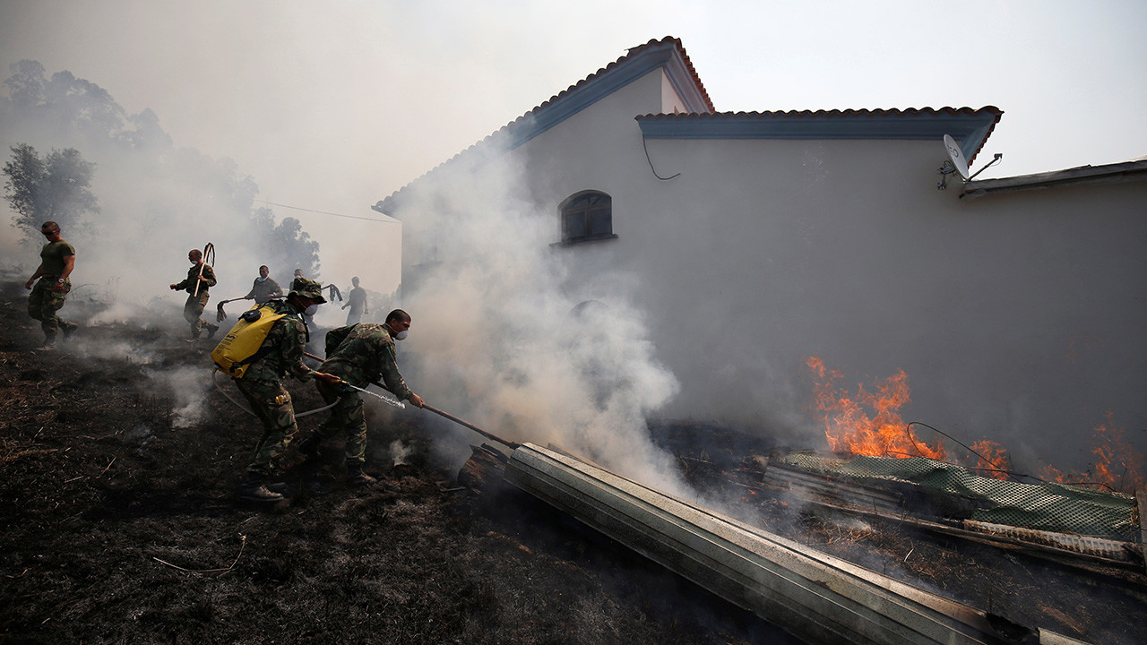 Inclemencia climática: Estremecedoras imágenes de las catástrofes naturales que azotan al mundo