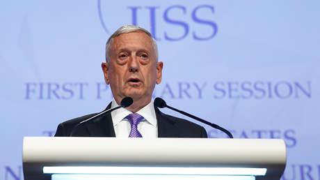 James 'Perro Rabioso' Mattis, el secretario de Defensa de EE.UU.