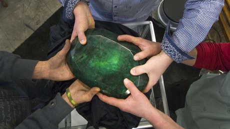 Teodora, la esmeralda tallada más grande del mundo.