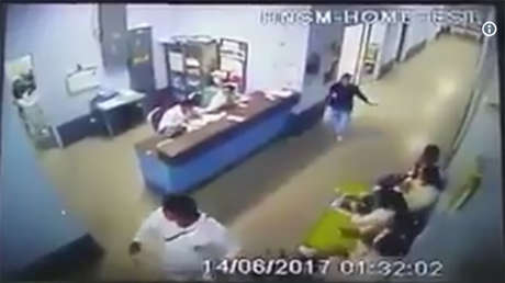 Video Captan Dentro De Un Hospital El Momento Exacto Del Fuerte Terremoto De Guatemala Rt