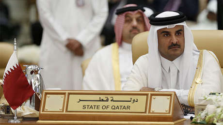 El emir de Catar, Tamim bin Hamad al-Thani