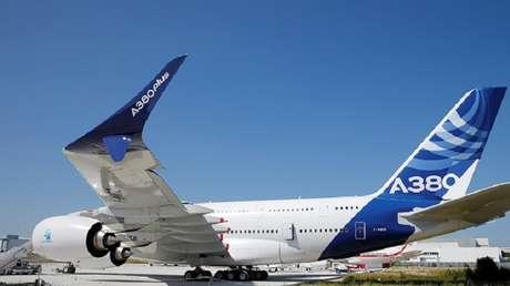 El nuevo modelo del Airbus A380.