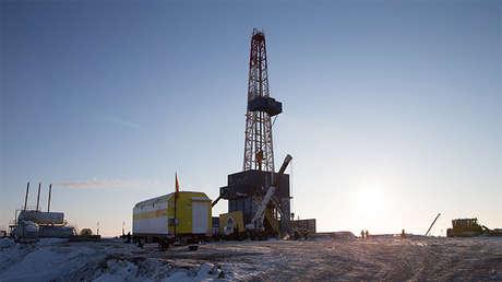 El pozo Tsentralno-Ólginskaia-1 de Rosneft.