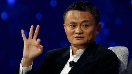 Jack Ma, presidente y fundador de la plataforma de comercio electrónico Alibaba