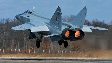 Un caza ruso MiG-31