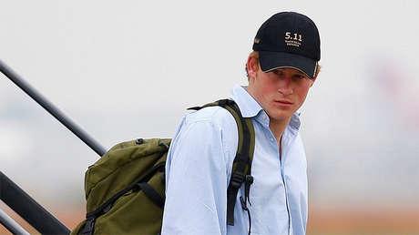 Enrique de Gales, 22 de octubre de 2007.