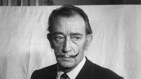 Retrato del pintor catalán Salvador Dalí, realizado en noviembre de 1966