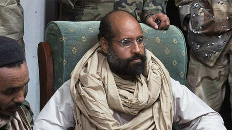 Saif al Islam, hijo del exlíder libio Muammar Gaddafi