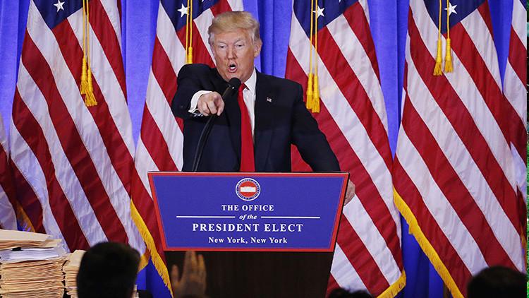 El nuevo 'nombre' que Donald Trump sugiere para referirse a la CNN