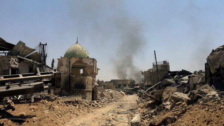 FUERTES IMÁGENES: Un dron sobrevuela Mosul y revela el terrible nivel de destrucción