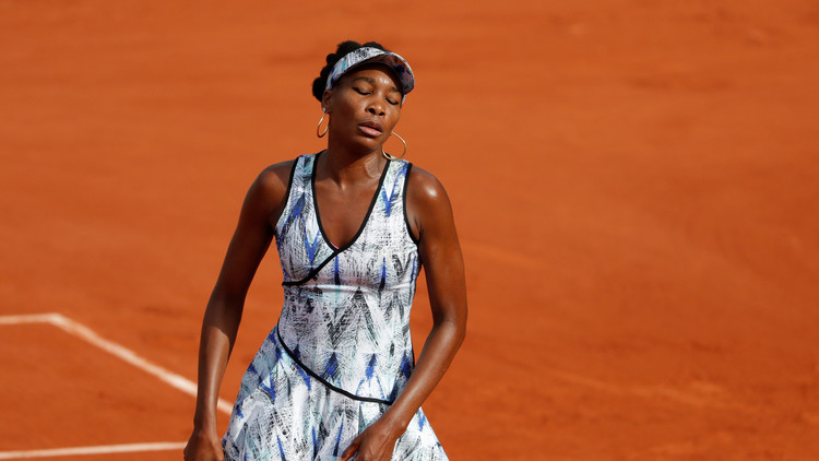 El llanto de Venus Williams al hablar de su accidente