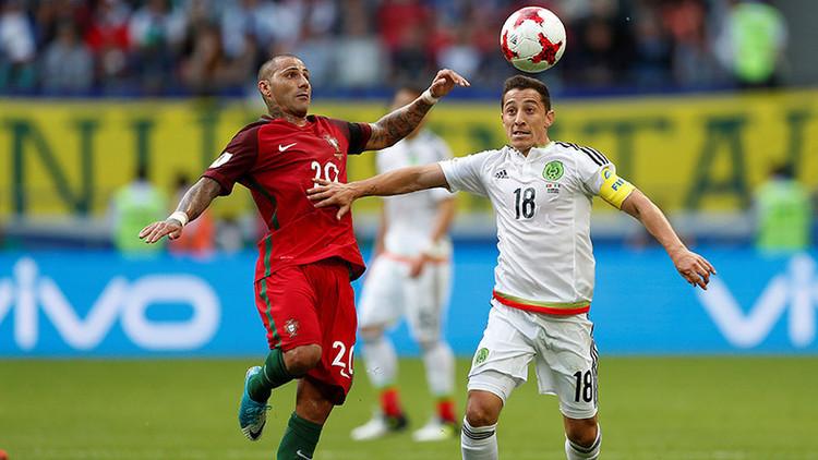 Portugal arrebata a México el tercer puesto en la Copa Confederaciones en un duelo de poder a poder