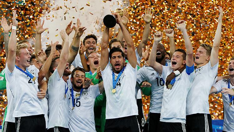 Alemania vence a Chile y se proclama campeón de la Copa Confederaciones Rusia 2017