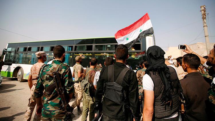 El Ejército sirio anuncia un alto el fuego en el sur de Siria hasta el jueves