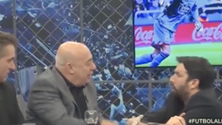 """Insultan al fútbol mexicano en la televisión argentina: """"Es una mierda""""  (VIDEO)"""