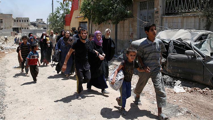 ¿Por qué los soldados iraquíes obligan a desnudarse a los civiles en Mosul?