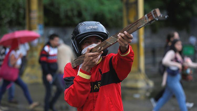 Venezuela: ¿Qué significan las misteriosas letras hebreas detectadas en protestas opositoras?