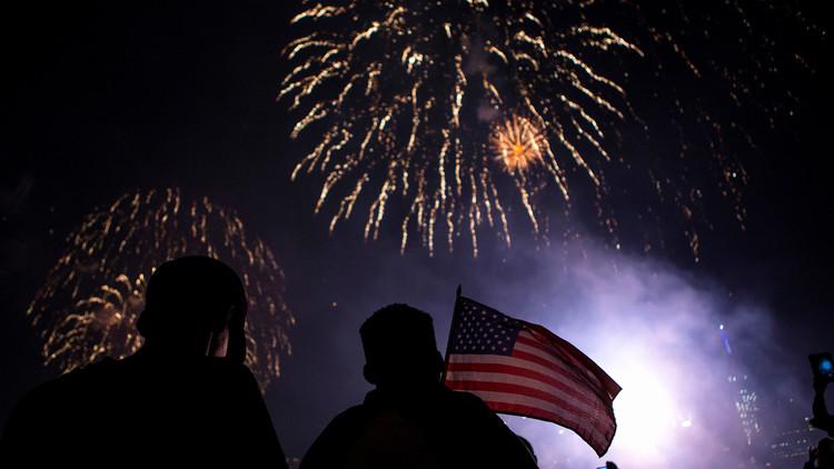 EE.UU. celebra el Día de la Independencia con un espectacular 'show' de fuegos artificiales (VIDEO)