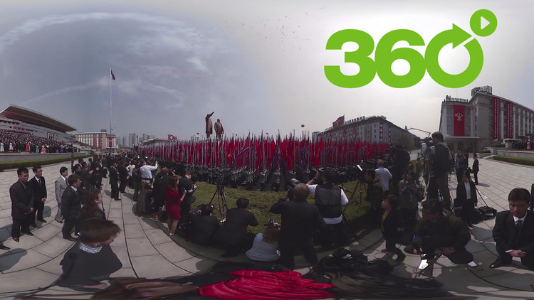 El poderío de Pionyang en 360°: Vea cómo celebró Corea del Norte su mayor desfile militar