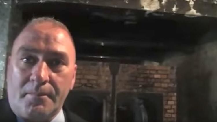 Critican a un congresista de EE.UU. por filmar un selfi en Auschwitz