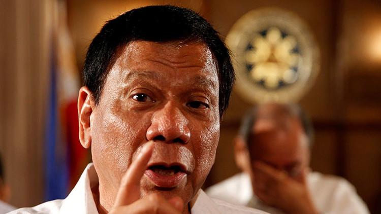 """""""Comeré vuestros hígados"""": Duterte amenaza a los terroristas por decapitar a dos marineros"""