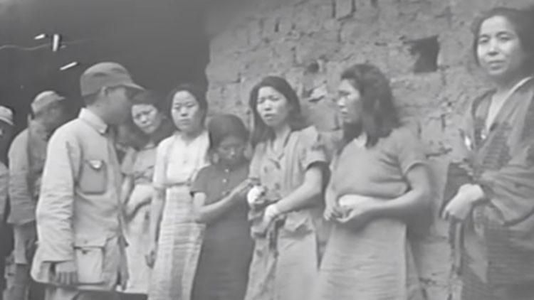 Un video muestra por primera vez a las esclavas sexuales que siguen llenando de vergüenza a Japón