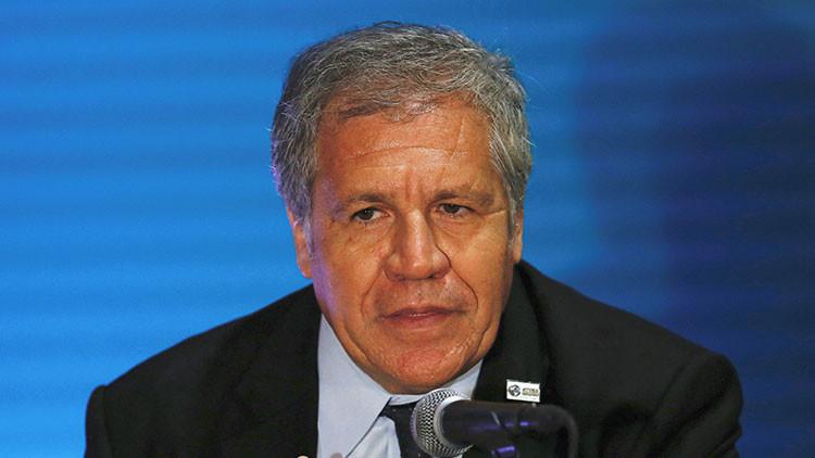 Secretario general de la OEA solicita reunión de urgencia para tratar tema de Venezuela