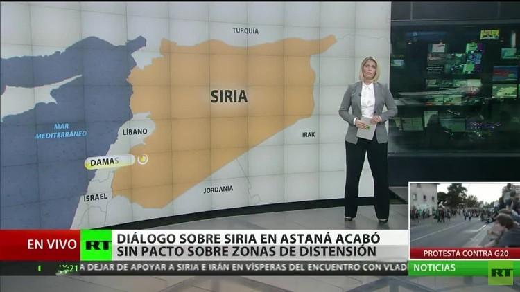 Las conversaciones sobre Siria en Astaná acaba sin acuerdo sobre las zonas de distensión