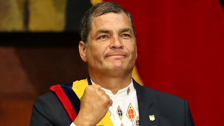 """Rafael Correa considera """"mediocre"""" que Moreno quiera diferenciarse de su gobierno"""