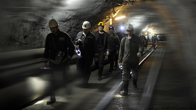 Explosión en una mina en Rusia