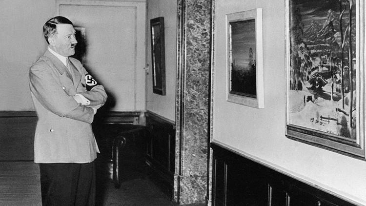 Pasión mortal: Un cuadro de Hitler oculta el secreto sobre el suicidio de su sobrina