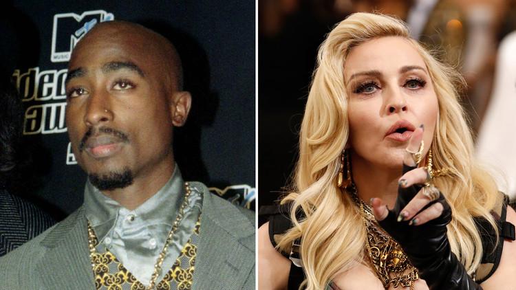 Tupac Shakur admitió en una carta por qué terminó su relación con Madonna (Fotos)