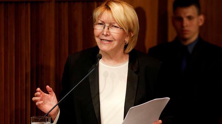 """""""La fiscal es la cabeza visible de un plan de intervención para Venezuela"""""""