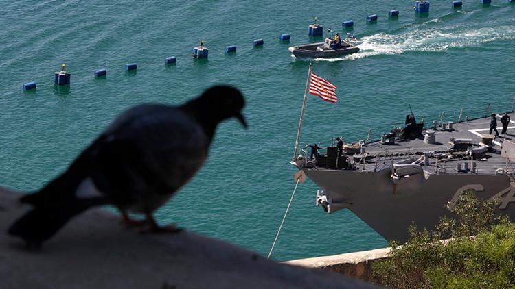 EE.UU. envía un crucero y un destructor al mar Negro para realizar maniobras con Ucrania