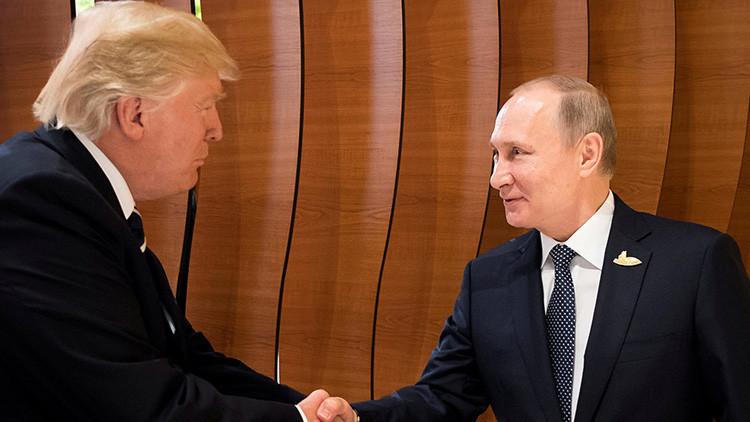 """Tillerson afirma que hubo """"química positiva"""" entre Trump y Putin durante su primera reunión"""