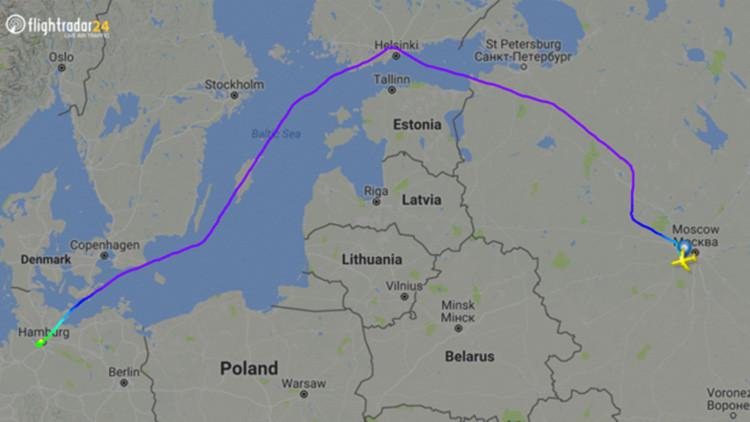 El portavoz de Putin comenta el rodeo del avión presidencial camino al G20