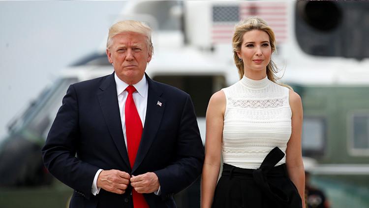 Donald Trump dice que el mayor problema en la vida de Ivanka es él
