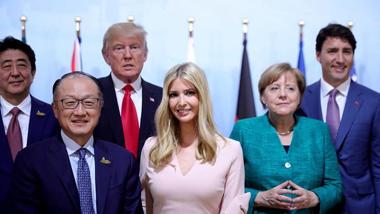 Ivanka Trump sustituye a su padre en una reunión del G20 (FOTOS)