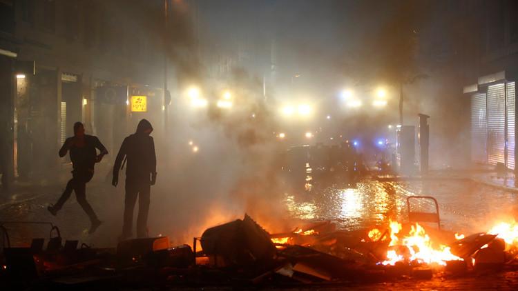 Las protestas sacuden Hamburgo por tercer día consecutivo (VIDEOS)