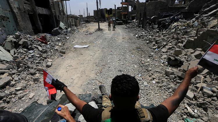 """Las tropas iraquíes están a """"decenas de metros"""" de liberar Mosul del Estado Islámico"""