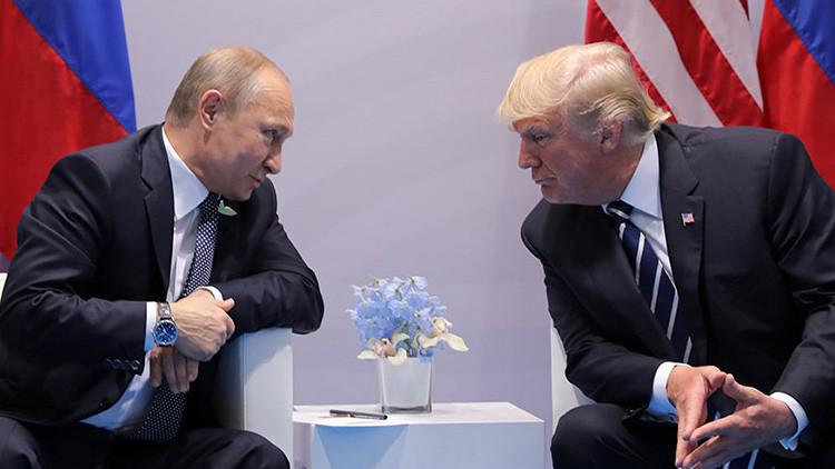 Trump discutió con Putin formar una unidad de ciberseguridad para prevenir el 'hackeo' de elecciones