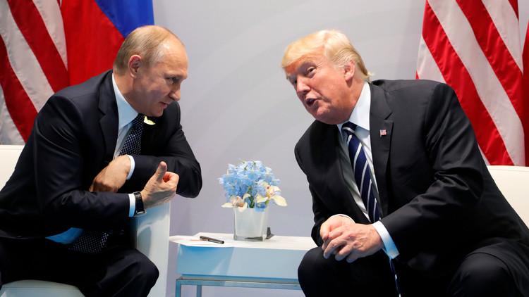 """Putin a Trump: """"¿Son estos los que le molestan?"""" (VIDEO)"""