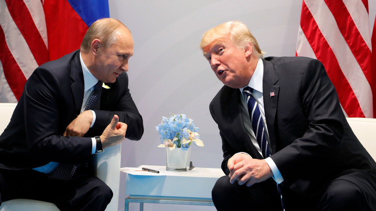"Putin a Trump: ""¿Son estos los que le molestan?"" (VIDEO)"