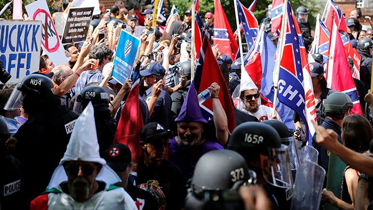 Cómo el Ku Klux Klan amenaza a EE.UU.