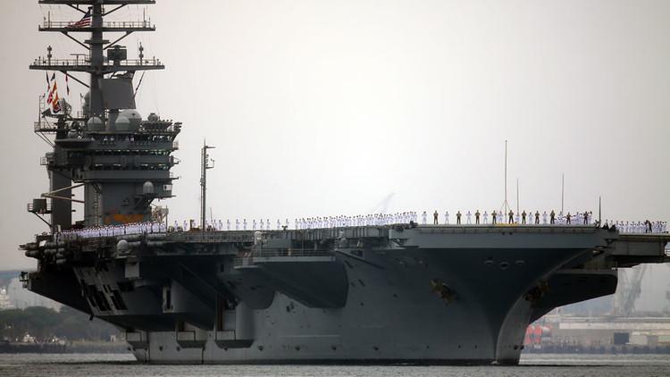 EE.UU., Japón e India desafían la creciente presencia de China en el océano Índico