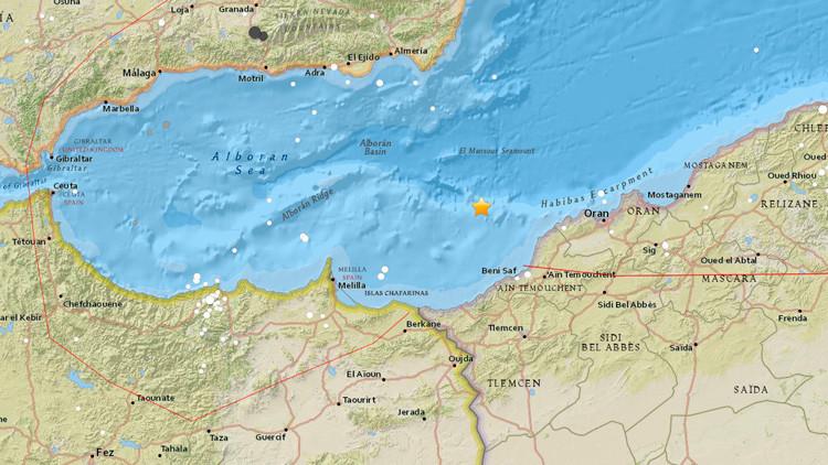 España: Un sismo de magnitud 4,9 sacude las costas de Almería